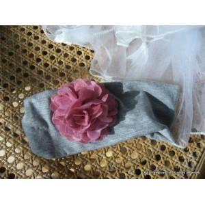 bandeau cheveux fleur. Black Bedroom Furniture Sets. Home Design Ideas