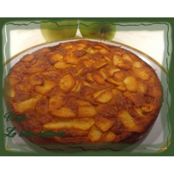 recettes illustr es pour cuisiner avec les enfants recette du g teau moelleux aux pommes. Black Bedroom Furniture Sets. Home Design Ideas