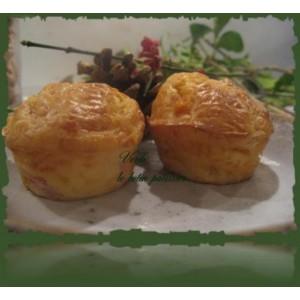 recette illustrée pour enfants- Muffins jambon/fromage