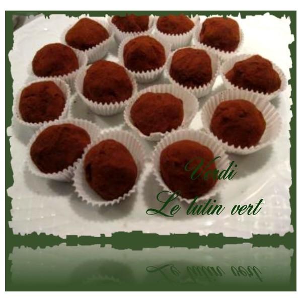 recettes illustr es pour cuisiner avec les enfants recette des truffes au chocolat recette facile. Black Bedroom Furniture Sets. Home Design Ideas