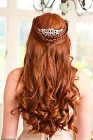 coiffure de mariage- accessoire diadème